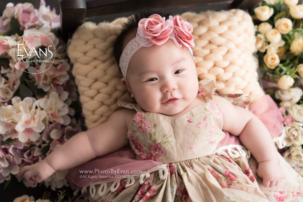 2-3個月嬰兒攝影