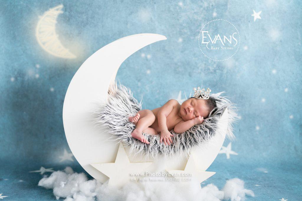 初生/滿月嬰兒攝影套餐
