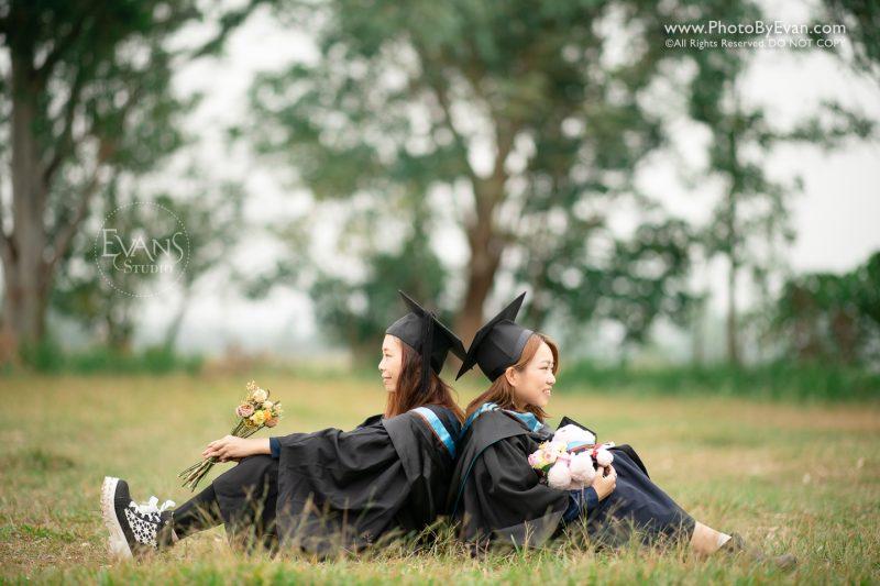 大學畢業,畢業攝影,戶外畢業攝影